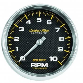 """Auto Meter - Auto Meter 10,000 RPM 5"""" Carbon Fiber In-Dash Tachometer"""