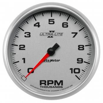 "Auto Meter - Auto Meter 5"" Ultra-Lite II In-Dash Tachometer - 10,000 RPM"