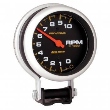 "Auto Meter - Auto Meter 10,000 RPM Pro-Comp Tachometer - 3-3/4"""