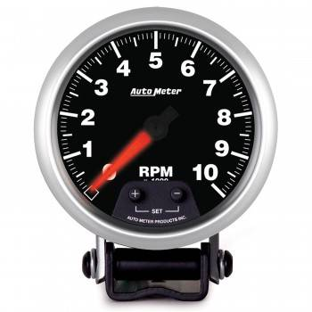 Auto Meter - Auto Meter Elite Series Mini Monster Tachometer - 3-3/4 in.