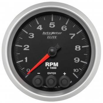 Auto Meter - Auto Meter Elite Series Tachometer - 3-3/8 in.