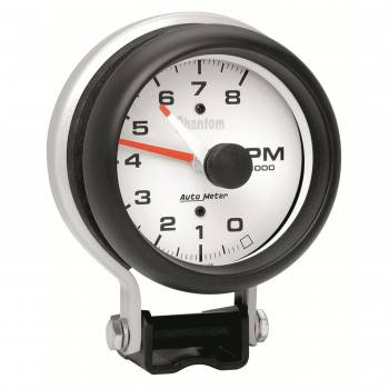 "Auto Meter - Auto Meter Phantom 3-3/4"" Tachometer - 8,000 RPM"