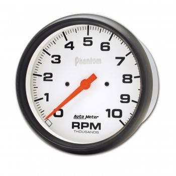 """Auto Meter - Auto Meter Phantom In-Dash Tachometer - 5"""" - 10,000 RPM"""
