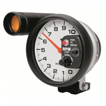 "Auto Meter - Auto Meter Phantom Shift-Lite Tachometer - 5"" - 10,000 RPM Shift-Lite Tachometer"