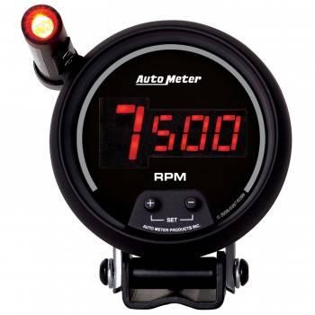 "Auto Meter - Auto Meter Sport-Comp Digital Tachometer - 3 3/4"""