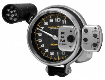 """Auto Meter - Auto Meter Carbon Fiber Pro Stock Tachometer - 5"""""""