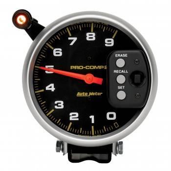 "Auto Meter - Auto Meter 9,000 RPM Pro-Comp II 5"" Single Range Tachometer"