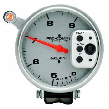 "Auto Meter - Auto Meter 9,000 RPM Ultra-Lite Pro-Comp II Monster Tachometer - 5"" - Dual Range Tach"