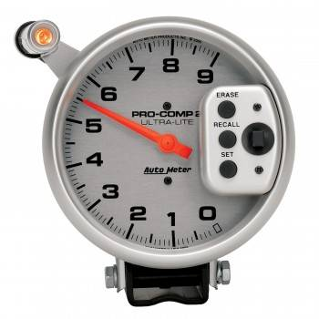 Auto Meter - Auto Meter 9,000 RPM Ultra-Lite Pro-Comp II Monster Tachometer - 5 - Single Range Tach