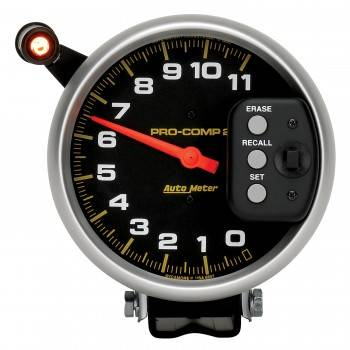 "Auto Meter - Auto Meter 11,000 RPM Pro-Comp II 5"" Single Range Tachometer"