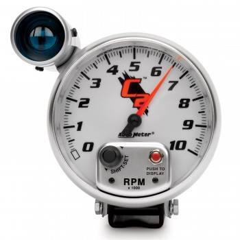 Auto Meter - Auto Meter C2 Shift-Lite Tachometer - 5 in.