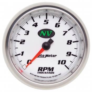 """Auto Meter - Auto Meter NV In-Dash Tachometer - 3-3/8"""""""