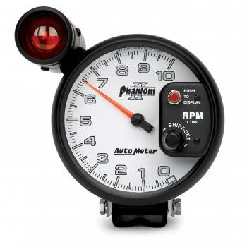 Auto Meter - Auto Meter Phantom II Shift-Lite Tachometer - 5 in.