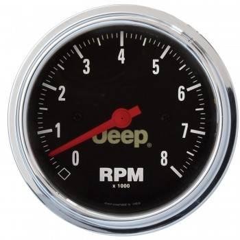 Auto Meter - Auto Meter 3-3/8 8000 RPM Tach - Jeep Series