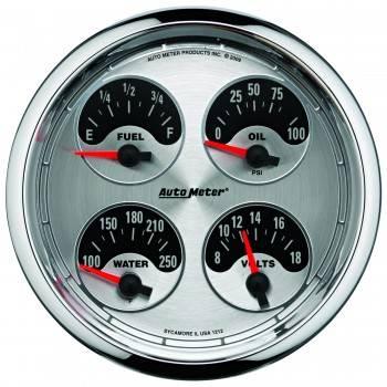 Auto Meter - Auto Meter American Muscle Quad Gauge - 5 in.