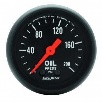 """Auto Meter - Auto Meter Z-Series 2-1/16"""" Oil Pressure Gauge"""