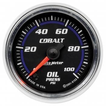 "Auto Meter - Auto Meter Cobalt Electric Oil Pressure Gauge - 2-1/16"""