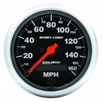 Auto Meter - Auto Meter Sport-Comp Electric Programmable Speedometer - 3-3/8 in.