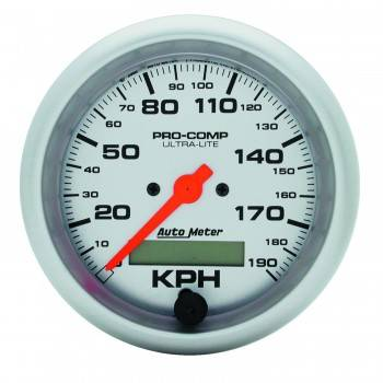 Auto Meter - Auto Meter Ultra-Lite In-Dash Electric Speedometer - 3-3/8 in.