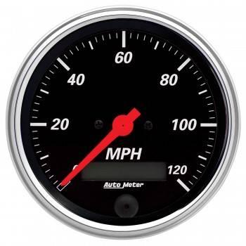 Auto Meter - Auto Meter Designer Black Electric Programmable Speedometer - 3-3/8 in.