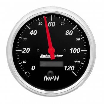 Auto Meter - Auto Meter Designer Black Electric Programmable Speedometer - 5 in.