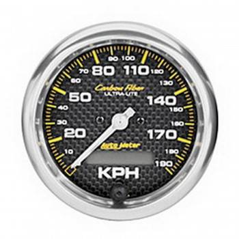 Auto Meter - Auto Meter Carbon Fiber In-Dash Electric Speedometer - 2-5/8 in.