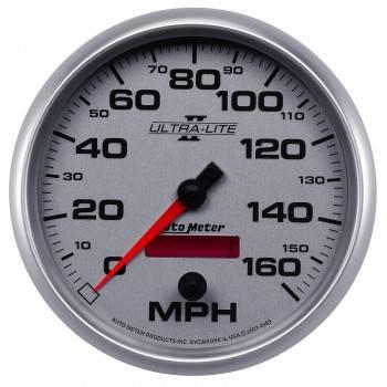 Auto Meter - Auto Meter Ultra-Lite II Programmable Speedometer - 5 in.