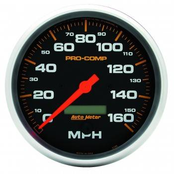 Auto Meter - Auto Meter Pro-Comp Electric In-Dash Speedometer - 5 in.