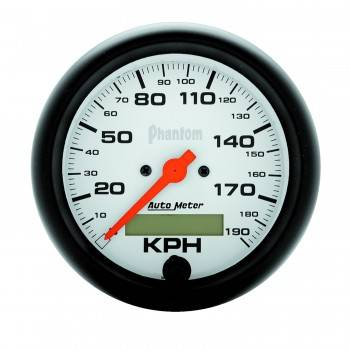 Auto Meter - Auto Meter Phantom In-Dash Electric Speedometer - 3-3/8 in.
