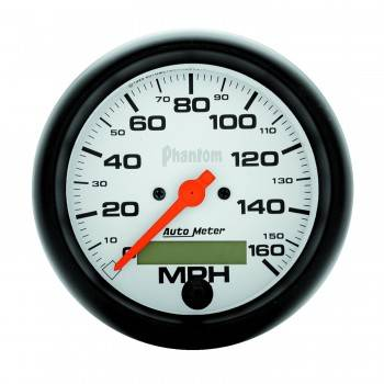 "Auto Meter - Autometer 3-3/8"" Phantom Electric Speedometer - 0-160 Mph"