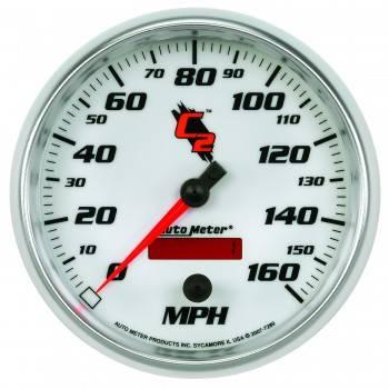 Auto Meter - Auto Meter C2 Programmable Speedometer - 5 in.