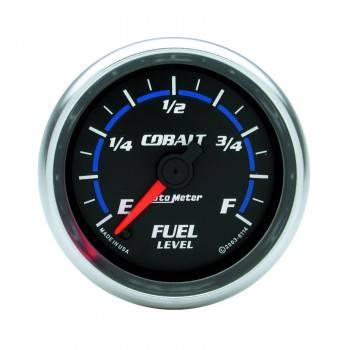 Auto Meter - Auto Meter Cobalt Electric Programmable Fuel Level Gauge - 2-1/16 in.