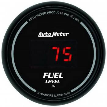 Auto Meter - Auto Meter Sport-Comp Digital Programmable Fuel Level Gauge - 2-1/16 in.