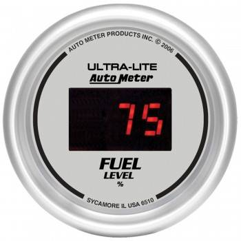 Auto Meter - Auto Meter Ultra-Lite Digital Programmable Fuel Level Gauge - 2-1/16 in.