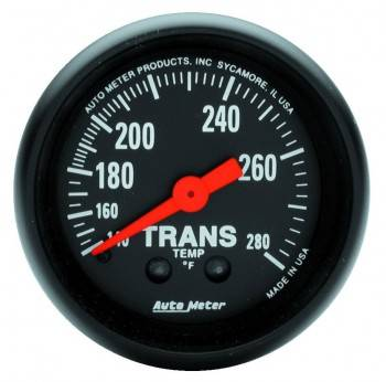Auto Meter - Auto Meter Z-Series Mechanical Transmission Temperature Gauge - 2-1/16 in.