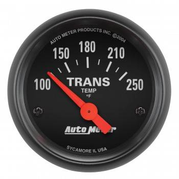 Auto Meter - Auto Meter Z-Series Electric Transmission Temperature Gauge - 2-1/16""