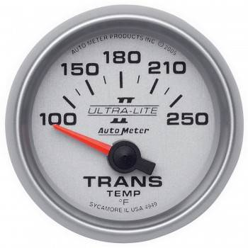 "Auto Meter - Auto Meter Ultra-Lite II Electric Transmission Temperature Gauge - 2-1/16"""