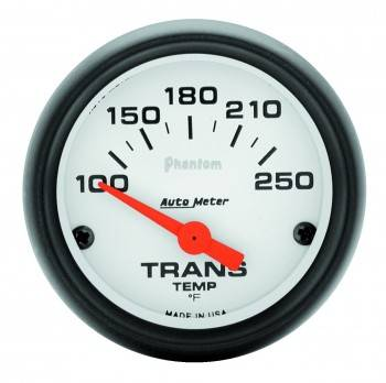 "Auto Meter - Auto Meter Phantom Electric Transmission Temperature Gauge - 2-1/16"" - 100°-250°"