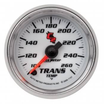 """Auto Meter - Auto Meter C2 Electric Transmission Temperature Gauge - 2-1/16"""""""