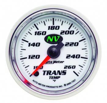 Auto Meter - Auto Meter NV Electric Transmission Temperature Gauge - 2-1/16""