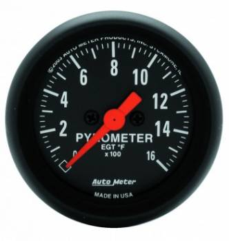 Auto Meter - Auto Meter Z-Series Electric Pyrometer Gauge - 2-1/16 in.