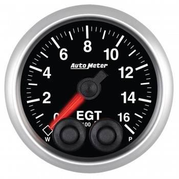 Auto Meter - Auto Meter Elite Series Pyrometer/EGT - 2-1/16 in.