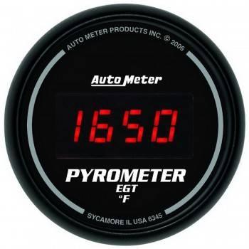 Auto Meter - Auto Meter Sport-Comp Digital Pyrometer Gauge - 2-1/16 in.