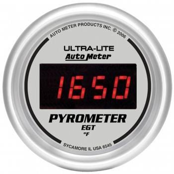 Auto Meter - Auto Meter Ultra-Lite Digital Pyrometer Gauge - 2-1/16 in.