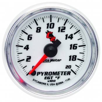 Auto Meter - Auto Meter C2 Electric Pyrometer Gauge - 2-1/16 in.