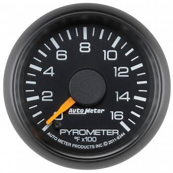 Auto Meter - Auto Meter 2-1/16 Pyrometer Gauge - GM Diesel Truck