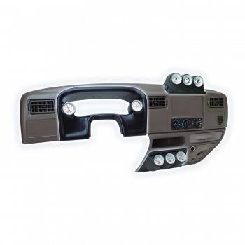 Auto Meter - Auto Meter Gauge Works Triple Dash Pod - 2-1/16 in.