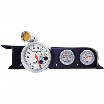 Auto Meter - Auto Meter Gauge Works Tach Pod - Use w/ 5 in. Tachs w/ 3-3/8 in. Case and 2-5/8 in. Gauges