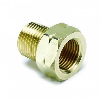 "Auto Meter - Auto Gage Temperature Adapter - 40976"" Brass NPT"