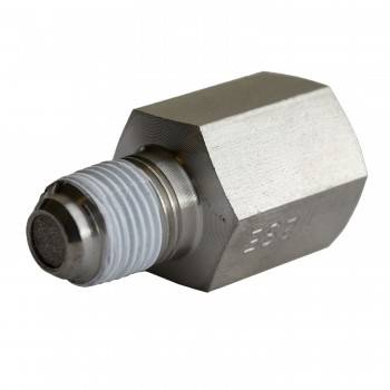 Auto Meter - Auto Meter Fuel Pressure Snubber - Required For 30 PSI Fuel Pressure Gauges On 1998-2002 Dodge Cummins Diesel
